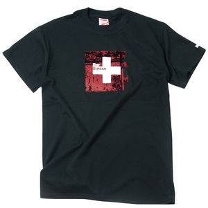 Men's Black Bar Suisse T Shirt