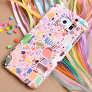 Colourful 'Scribbles' Phone Case By Mia Christopher