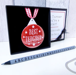 Teachers Medal - gifts for teachers