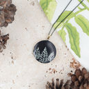 Black Tree Locket