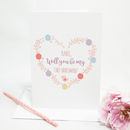 Personalised Will You Be My Chief Bridesmaid Card