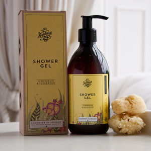 Lemongrass And Cedarwood Shower Gel - washing & bathing