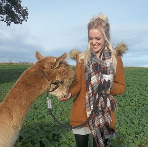90 Minute Walk With Alpacas Experience - shop by category