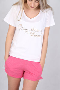 Getting Married In The Morning Pyjamas - lounge & activewear