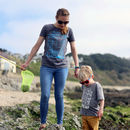 Recycled Cotton Womens 'Adventure Kit' T Shirt