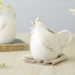 Chicken Milk Jug - placemats & coasters
