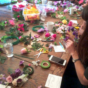 Flower Crown Workshop Available Nationwide - craft & art