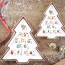 Christmas Tree Ceramic Dish
