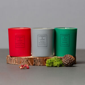The Magical Lands Literary Soy Candle Collection