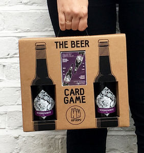 Hip Hops Card Game And Craft Beer Gift Set