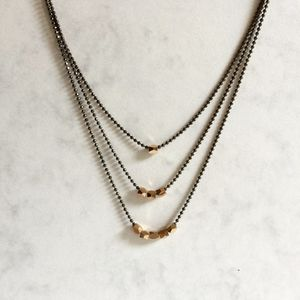 Ophira Necklace - layering necklaces