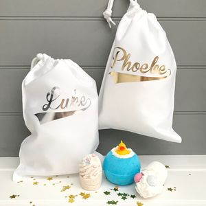 Personalised Bath Bombs Gift Bag - bathroom