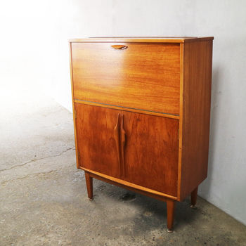 1960's British Mid Century Drinks Cabinet/Cupboard