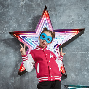 Kids Star Varsity Jacket