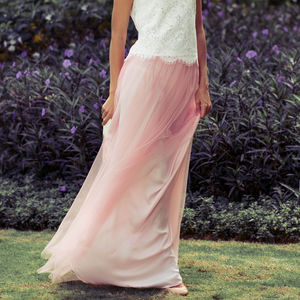 Maya Bridesmaid Tulle Skirt - wedding fashion