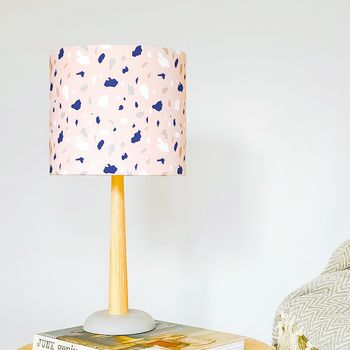 Pink Terrazzo Marble Lampshade