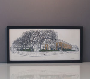 Kemp Town Print - drawings & illustrations