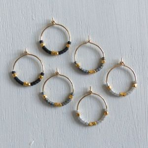 Petite Fair Trade Evening Hoop Earrings