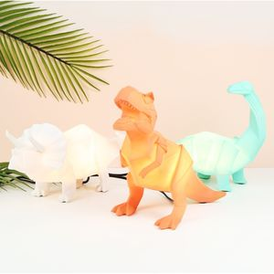Origami Dinosaur Night Light - children's lighting