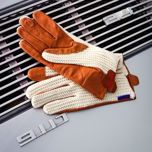 Suixtil Classic Stringback Leather Driving Gloves - gloves