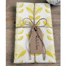 Dandelion Print Tea Towel