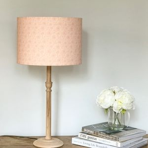 Dahlia Flower Lampshade - lampshades