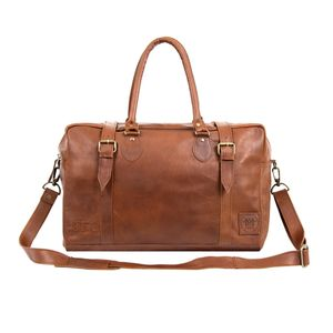 Personalised Leather Eckhart Doctor Holdall
