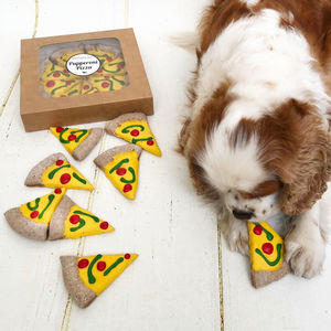 Pupperoni Pizza Dog Treats - pet lover