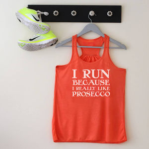 Personalised Slogan Racerback Top - women's fashion