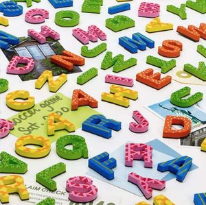3D Alphabet Fridge Magnets - magnets