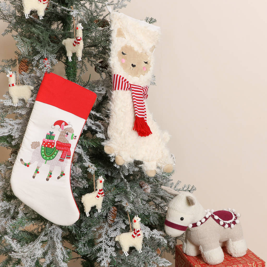 llama charmers christmas decoration collection