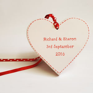 Personalised Wedding Heart - signs