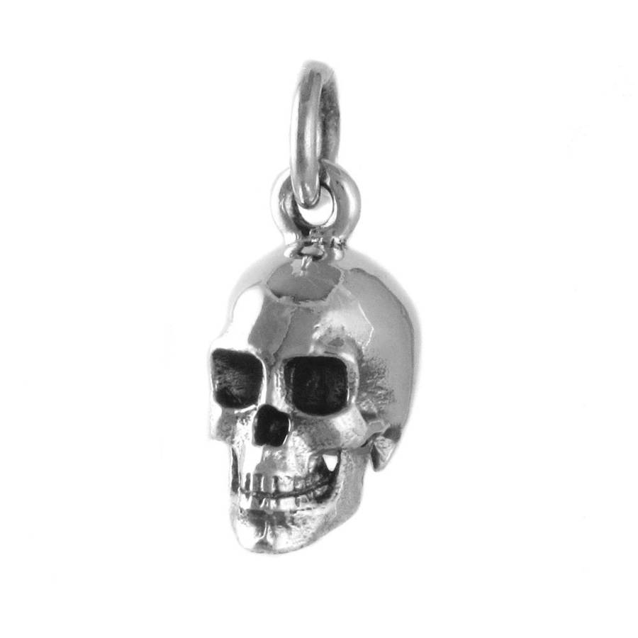 micro skeleton hip pendant reborn necklace skull out stainless products ice bling rhinestone full hop titanium steel pave
