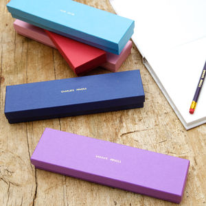 Personalised Pencil Set - stationery