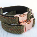 Huntsman Rg Harris Tweed Dog Collar