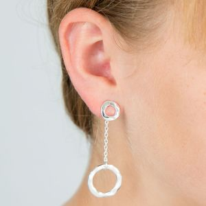 Circle Wear Two Ways Earrings