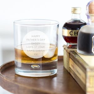 Personalised Whisky Tumbler - 21st birthday gifts