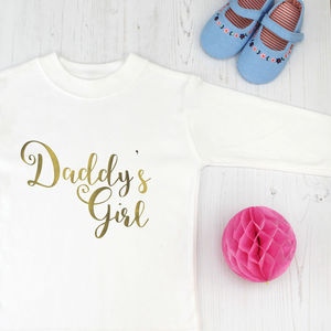 Daddy's Girl T Shirt For Father's Day