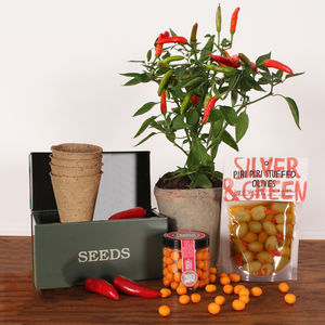 Grow Your Own Chilli's Gift - pots & planters