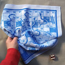 Snakes And Ladders Boardgame Hankie