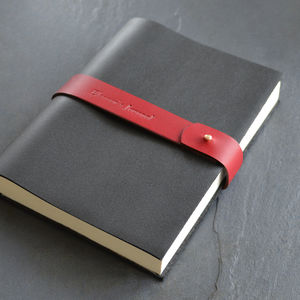Leather Journal / Notebook - writing