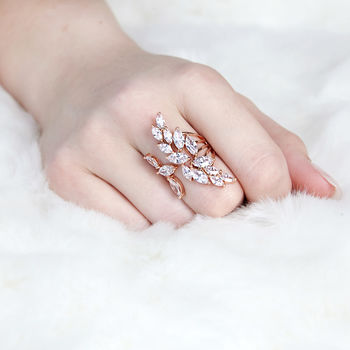 Jewelled Statement Ring