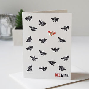 Bee Mine Valentine's Day Card - cards & wrap