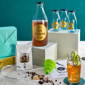Personalised Brew Your Gin Kit - gifts for him