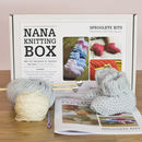 Nana Merino Baby Booties Knitting Kit