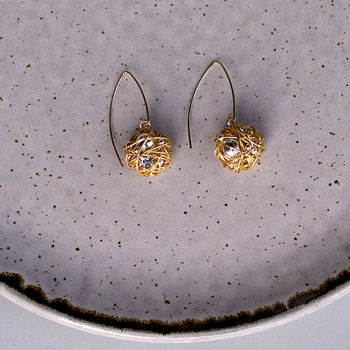 Small Drop Selene Earring