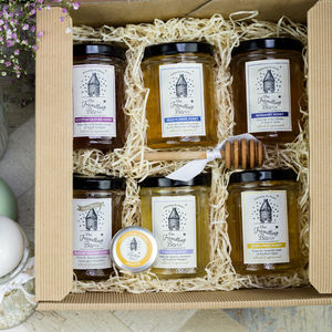 Travelling Bee Luxury Honey Hamper - gifts to eat & drink