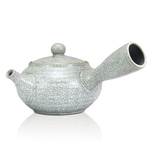 Ru Side Handle Crackle Glaze Teapot 700ml