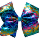 Mermaid Bow - Blue