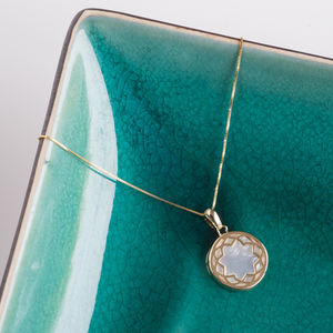 'Mother You're My Pearl' 9ct Gold Necklace*